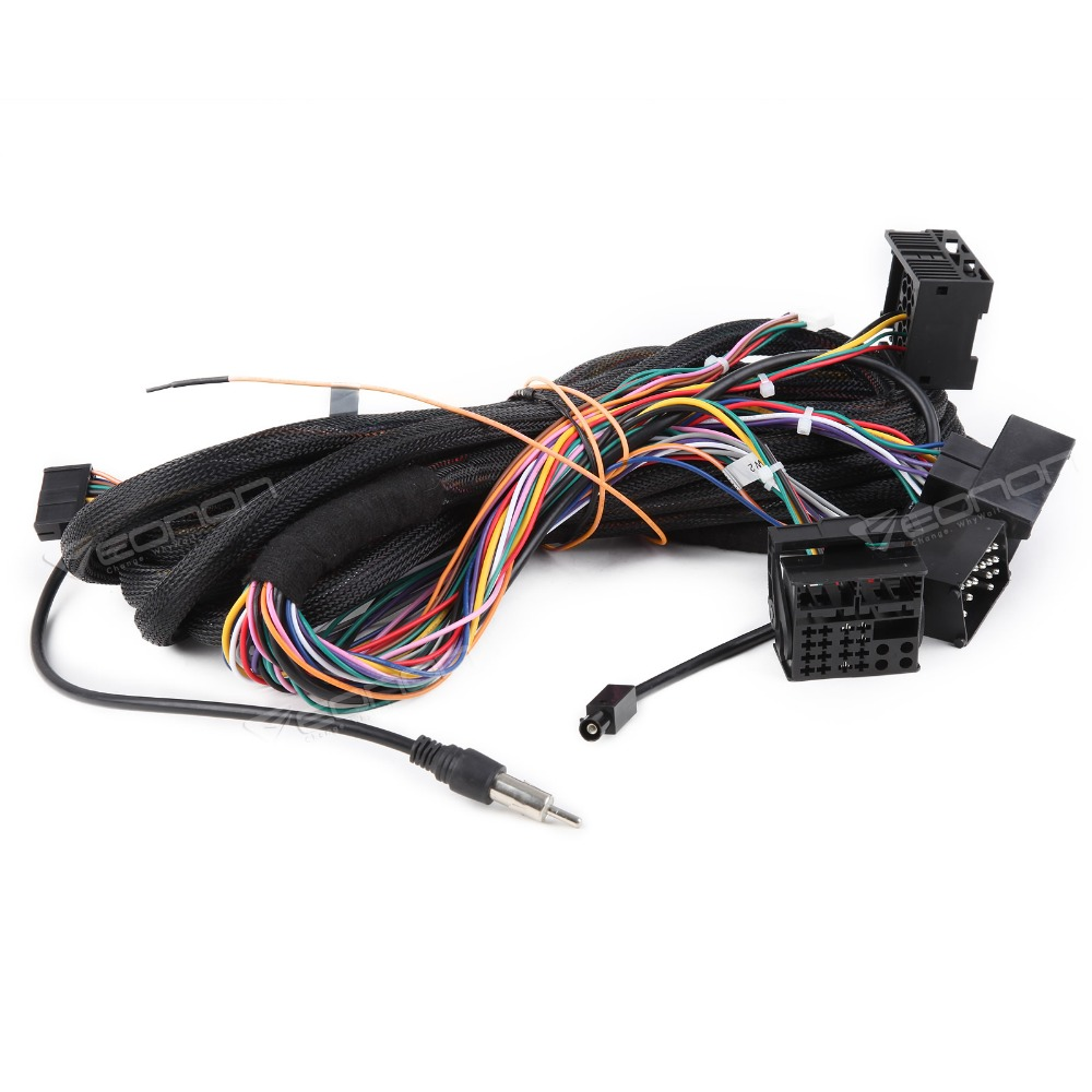 A0577 Extension Cable For Bmw E46 E39 X5 Wiring Harness 17pin 40pin Eonon Car Stereo Ga7150f Ga7166a Ga7201a Ga9201a Ga9150a In Multimedia Player