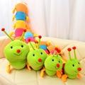 1 UNID 50 cm Encantadora Inchworm Juguete Suave Felpa Orugas del Asimiento de la Muñeca Juguetes Para Niños Bebés y Niños Felpa juguetes