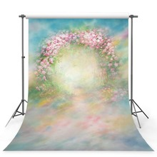 Get more info on the MEHOFOTO Vinyl Photography Background Retro Pink Rose Flower Door Dark Oil Printed Fotografia Backgrounds for Photo Studio G-437