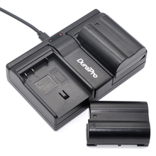 DuraPro 2Pcs EN-EL15 EN EL15 Battery+USB 2-Channel Charger for Nikon D500 D600 D610 D750 D7000 D7100 D7200 D800 D800E D810 1 V1