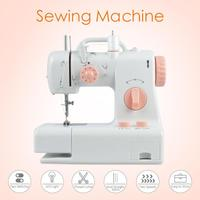 Mini Hand Sewing Machine Overlock Multifunction Electric Double Thread Mini Automatic Tread Portable Knitting Mending Machine