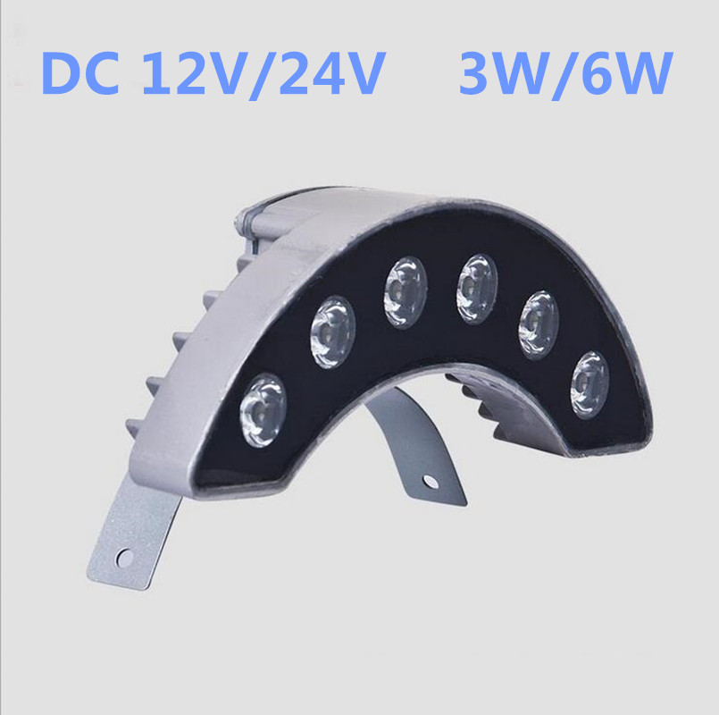 10pcs/lot 3W 6W DC12V/24V Tile Light Roof Landscape Light LED Outdoor waterproof IP66 Curve Corrugated Lamp Crescent Lamp