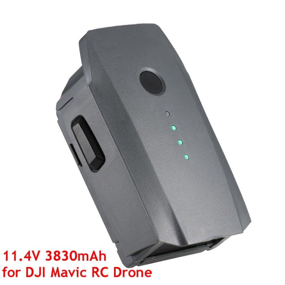 11.4 v 3830 mah 3 s Inteligente Spare Substituição Da Bateria LiPo para DJI Vôo Mavic Pro & Platinum FPV Quadcopter RC Zangão