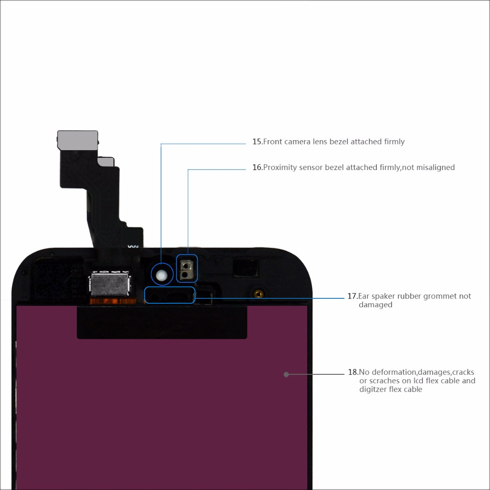 10pcs Wholesale Mix Model LCD For iPhone 5 For iphone 5C For iphone 5S LCD Display Touch Screen Digitizer Assembly Replacement in Mobile Phone LCD Screens from Cellphones Telecommunications