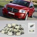 Frete Grátis!! #42 6x Luzes Brancas LED Interior Package Kit Para Carro Calibre 2007-2012