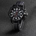 New Vogue Fashion V6 3D surface Case Black Male Analog Quartz Watch Military Men Business Casual Wrist watch relojes Hombre Gift
