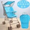 Carrinho de Almofada Do Assento Do Bebê Carrinho De Criança, Pram Acessórios Mat, White Dot Seat Cushion, Frete Grátis, Rosa, verde, Azul, Roxo, Marrom