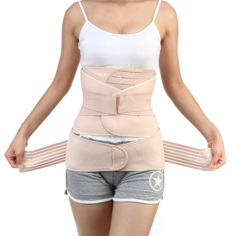 3Pieces/Set Maternity Postnatal Belt After Pregnancy bandage Belly Band waist corset Pregnant Women Slim Shapers underwear hot sale hot sale car seat belts certificate of design patent seat belt for pregnant women care belly belt drive maternity saf