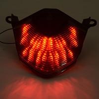 MAYITR Motorcycle Taillight LED Tail Brake Turn Signal Light For Kawasaki Z750 2007 12 Z1000 07