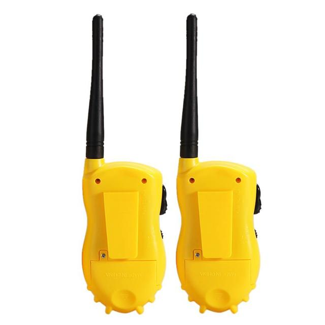 1 Pair Handheld Toy Walkie Talkie Children Educational Games Interactive Toys kids Cute Kids Radio Relogio Interphone Gift 4