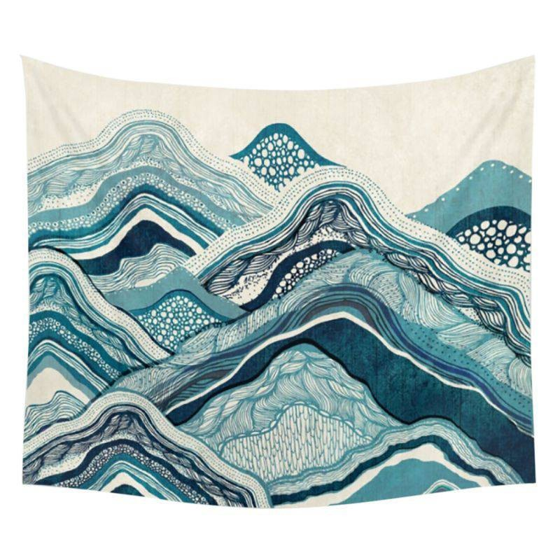 1 pcs Multi-styles Bohême Mandala Couvertures Tapisserie Éléphant Tenture wandbehang Couverture gobelin Dortoir Décor À La Maison