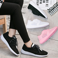2017 New Cheap Brand Summer Mesh Women Walking Shoes Lightweight Comfortable Breathable Flats Women Casual Shoes Tenis Feminine