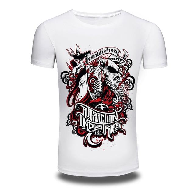 ea3b5cda Supreme New Brand White T shirt for Men established 2007 Print Tshirts  Summer short sleeve Tee