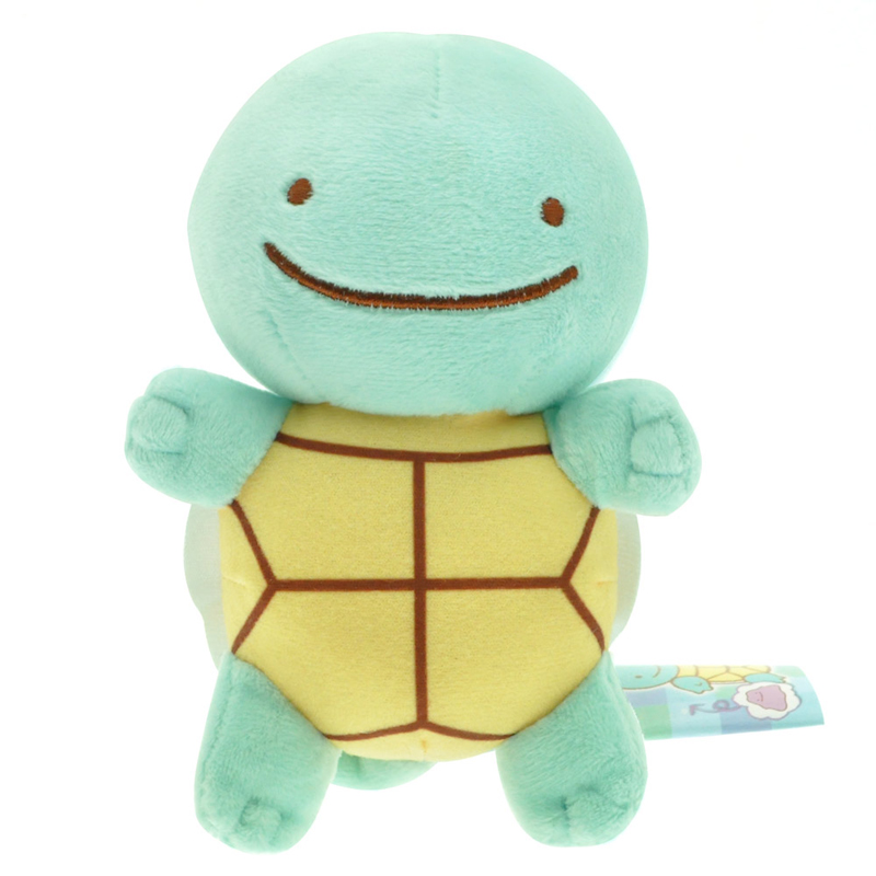 5pcs/lot 15cm Ditto Squirtle Plush Toys Cute Squirtle Plush Soft Stuffed Animals Toys Doll for Kids Children Gifts With Tag 5pcs lot pikachu plush toys 14cm pokemon go pikachu plush toy doll soft stuffed animals toys brinquedos gifts for kids children