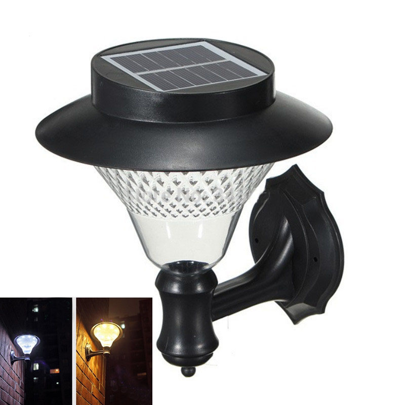 Solar Outdoor LED Light Fixture, Pole/Post/Wall Mount Kit, For Patio Deck  Yard Garden Home Driveway Stairs Outside Wall Pathway In Solar Lamps From  Lights ...