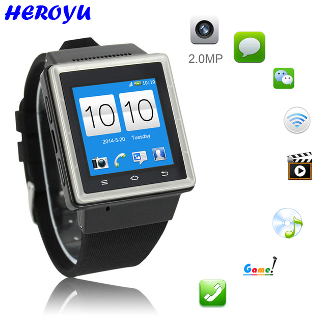 Smart Watch Wifi Gps Tracker Vedio  Million Pixels Photo Mp Smartphone Smartwatch For Android Vs