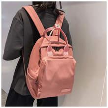 Women Shoulder Bag Large Backpack Student Schoolbag for Teenage Girls Laptop Travel Bag Female Bookbag Mochilas for College все цены