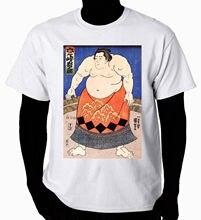 Japanese art t-shirt kuniyoshi utagawa the sumo wrestler tee t shirt hipster harajuku brand clothing t-shirt o-neck tee shirt