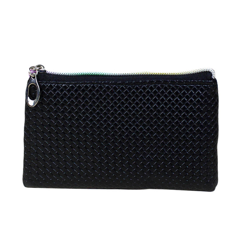 Womens Coin Purses Fashion Leather Coins Wallet Zipper Clutch Purse Lady Long Handbag Coin Bag Wholesale A8