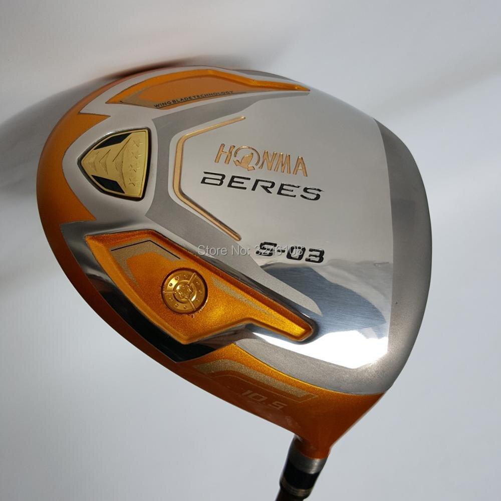 Golf clubs HONMA S-03 4 Étoiles Golf pilote 9.5 ou 10.5 loft Graphite arbre R ou S flex Clubs De Golf pilote Livraison gratuite