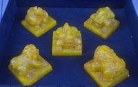 Китай Tianhuang Шушан камень нефрит резной 5 дракон Kylin печать штамп перстень комплект