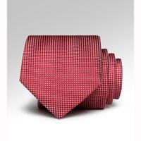 Groom Wedding Tie High Quality Classic Red Ties For Men Wedding Groom Groomsmen Necktie 7CM Waterproof
