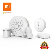 Xiaomi Sensible Dwelling Equipment Mijia Gateway Door Window Human Physique Sensor Temperature Humidity Sensor Wi-fi Swap Zigbee Socket