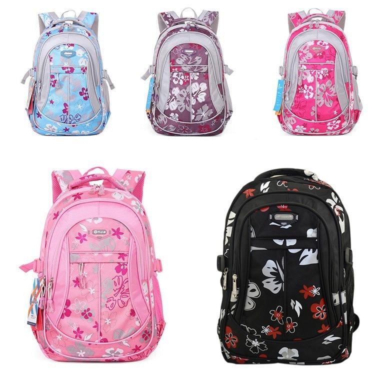 3656ae02f858 Grade 1 6 Large School Bags For Girls Boys Children Backpacks ...