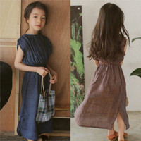 Mother Daughter Bohemian Maxi Dress Family Matching Outfits 2018 New Fashion Mommy And Me Solid Long
