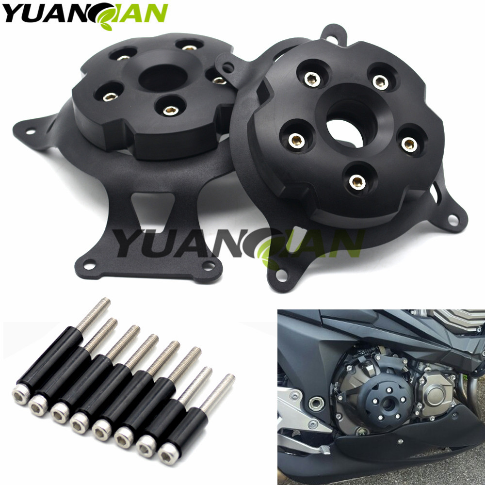 NEW Black CNC Motorcycle Engine Stator Cover/Engine Protective Cover For KAWASAKI Z800 2013 2014 20152016 Free shipping