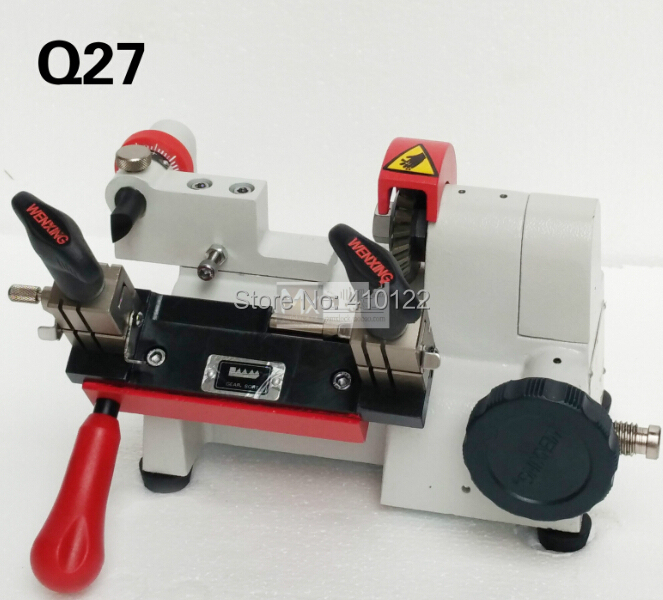 white color wenxing q27 key cutting copy machine only working on 220voltschina mainland - Color Copy Machine