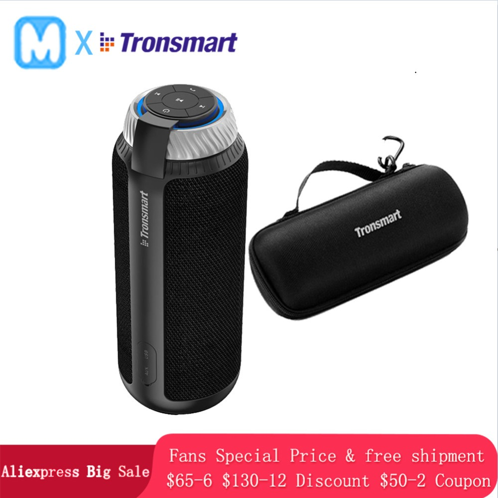 Tronsmart T6 Speakers Column Portable Wireless Bluetooth Mini Speaker Soundbar Audio Receiver AUX Big Power(China)