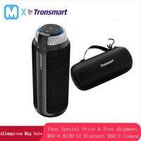 Tronsmart T6 Speakers Column Portable wireless Bluetooth Mini Speaker Soundbar Audio Receiver AUX big power