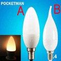 FREE SHIPPING Hot E14 3W LED Candle Bulb E14 2835 SMD Led Candle Light Bulb Lamp Warm Cool White Home Interior Decoration 1 Pc