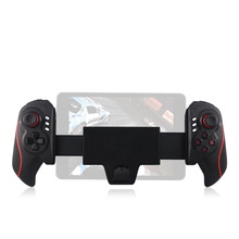 Hot Joystick Wireless Telescopic Bluetooth Game Controller Gamepad Game Handle Cell Phone Support for 5-10 Inch