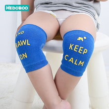Medoboo Baby Knee Protector Cotton Pads Kids Crawling Solid Color Mesh Children Kneepads Casual Sports Leg warmers 10