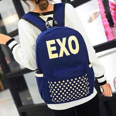 Aliexpress.com : Buy Kpop Exo Backpack 2015 New Trendy Backpacks ...