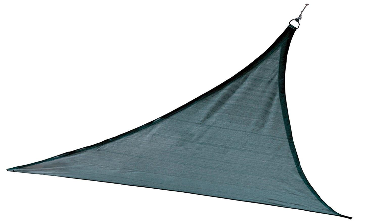 ShelterLogic 25733 12 ft. - 3 7 m Triangle Shade Sail - Sea 230 gsm тент shelterlogic gardendreams 80240
