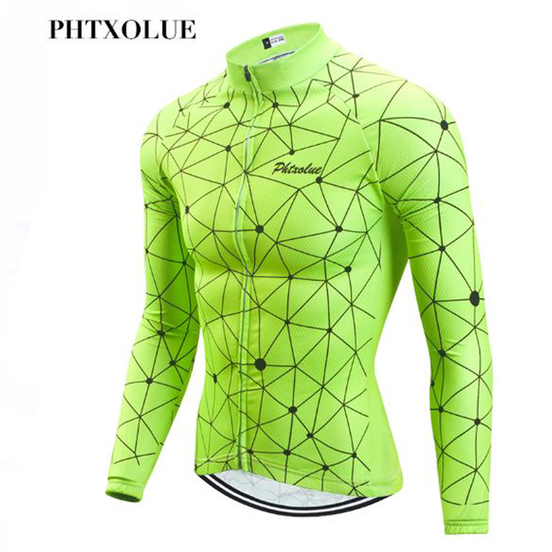 Phtxolue Winter Thermal Fleece Cycling Clothing Keep Warm Maillot Ropa Ciclismo Invierno Bicycle Clothing Wear MTB