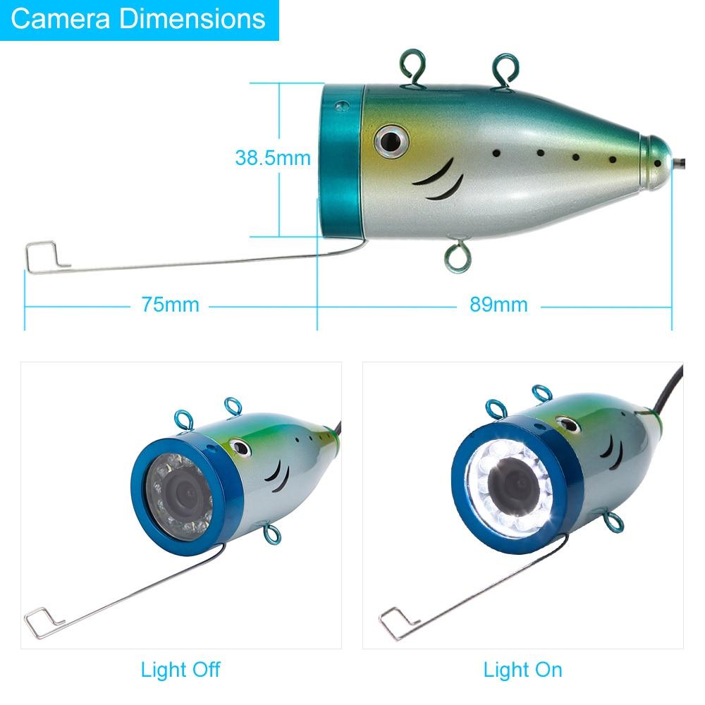 Hd 1200 tvl underwater fishing camera for Underwater camera fishing