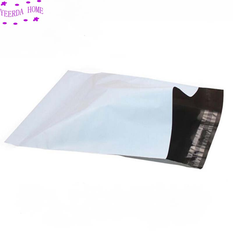 100Pcs Lot Self seal Adhesive Courier bags Storage Bags Plastic Poly Envelope Mailer Postal Shipping Mailing Bags Mail bag in Storage Bags from Home Garden