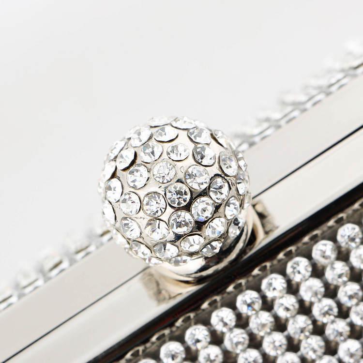 be0474f489fcc Luxy Moon Designer Clutch Dinner Purse evening bags luxury diamond Gold  clutch handbags Iron box evening bags bolsa de festa -in Clutches from  Luggage ...