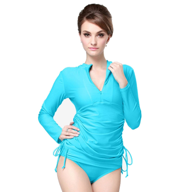 Long Sleeve Swim Shirt Women