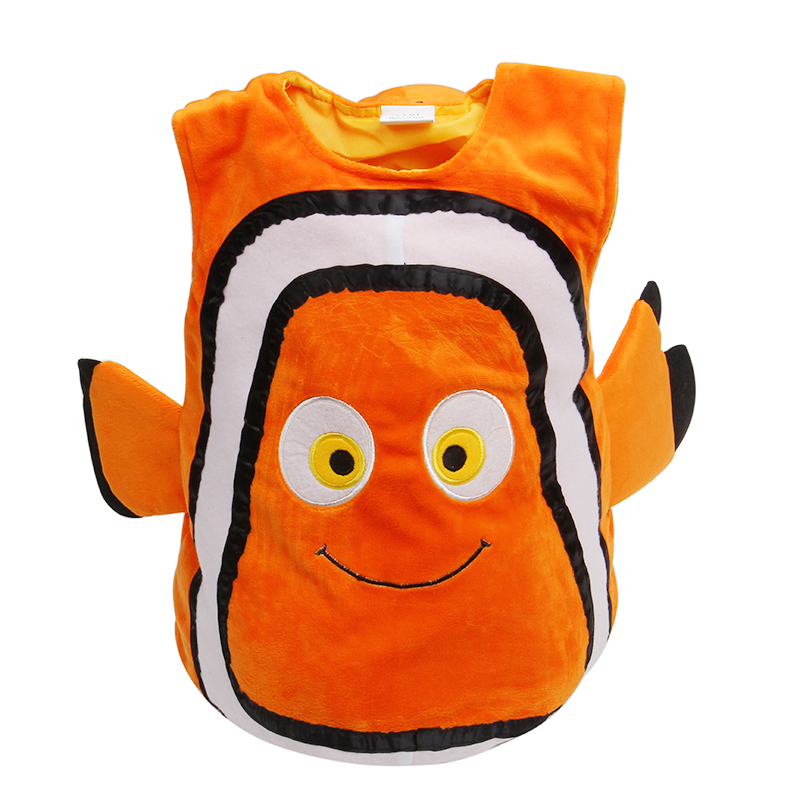 Novelty & Special Use ...  ... 32816735272 ... 2 ... Deluxe Adorable Child Clownfish From Pixar Animated Film Finding Nemo Little Baby Fishy Halloween Cosplay Costume Age 2-7 Years ...