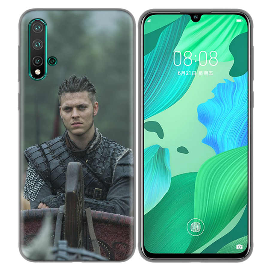 Sacos de Capa Coque Casos Capa Mole Para Huawei P9 P10 P20 P30 Companheiro 10 20 30 Lite Pro P Inteligente 2019 2017 TV Show Vikings