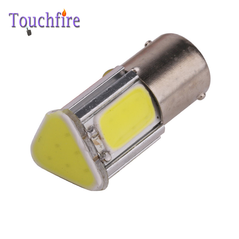 2pcs Car Bulb Dropshiping S25 1156 1157 Canbus Error Free LED COB 660LM Car Bulb Auto Wedge AC 12v Width Interior Signal brake