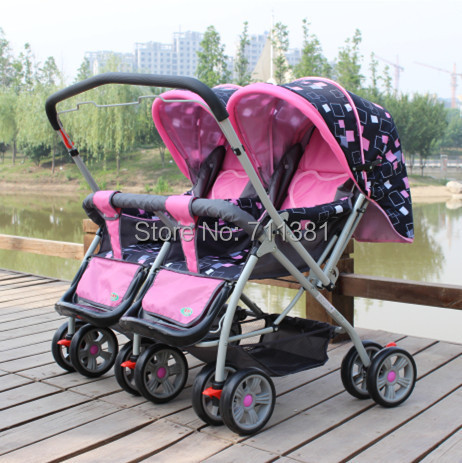 Aliexpress.com : Buy Loading 7 36 Months Kids Double Strollers ...