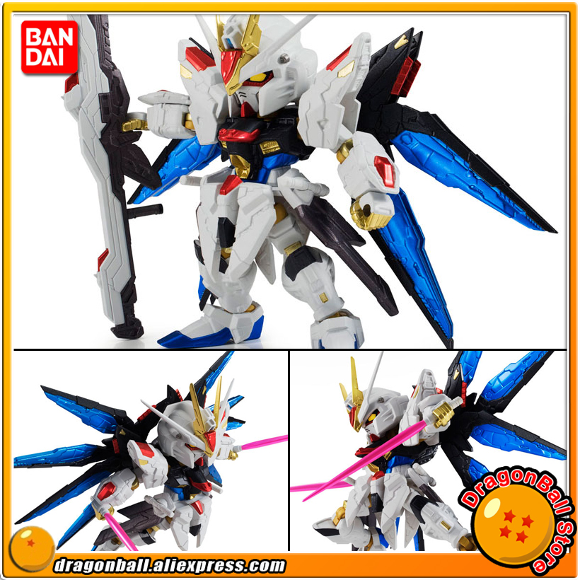 Mobile Suit Gundam SEED Destiny Original BANDAI NXEDGE STYLE No. 0020 Action Figure - Strike Freedom Gundam (RE:COLOR Ver.) baby toys early developmental plaything brinquedos bebe eletronicos action animis free shipping 366c