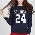 2016 Autumn Winter Wolf Stiles Stilinski Teen 24 Women Jumper Cotton Harajuku Hoodies For Lady Fashion Funny Hip Hop Sweatshirt