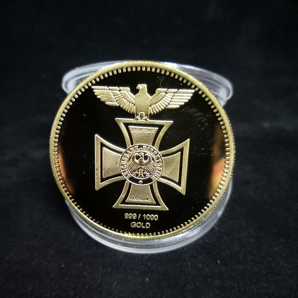 Erwin Rommel Germany Commemorative Medal token